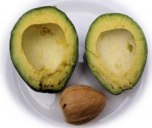 Plod avokáda - kliknutím zobrazíte obrázek v plné velikosti