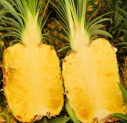 Rozkrojený ananas