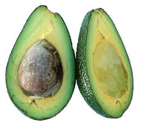 Rozkrojený plod