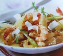 Thajský salát z pomela - kliknutím zobrazíte obrázek v plné velikosti