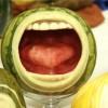 Vyřázáno z vodního melounu ... - kliknutím zobrazíte obrázek v plné velikosti