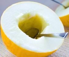 vŽlutý cukrový meloun - kliknutím zobrazíte obrázek v plné velikosti